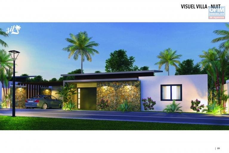 For sale a project of 6 villas of 1183 sq ft with private pool in Mont Mascal / Cap Malheureux.