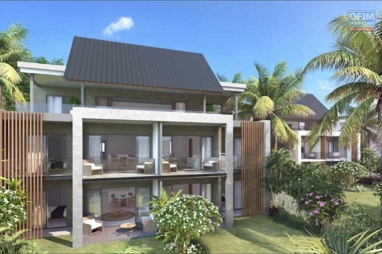 Pointe d'Esny for sale project PDS accessible to foreigners with swimming pool, in an idyllic natural setting near the most beautiful lagoon of the island.