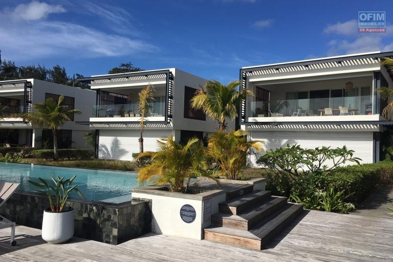 For rent T3 in a new second line residence in Trou aux Biches.