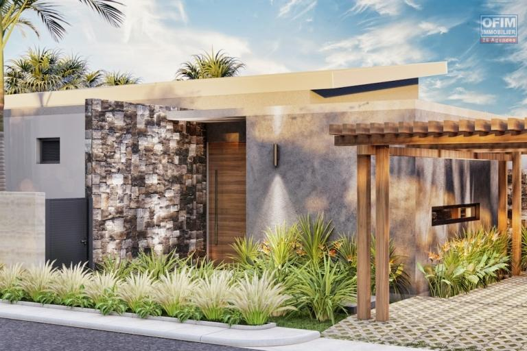 For sale a program of 8 villas reserved for exclusive purchase to Mauritian citizens in the north 20 foot path in Grand Baie / Pereybere.