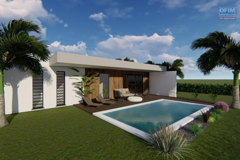 For sale a program of 12 villas reserved for the exclusive purchase to Mauritian citizens in the north 20 foot path in Grand Baie / Pereybere.