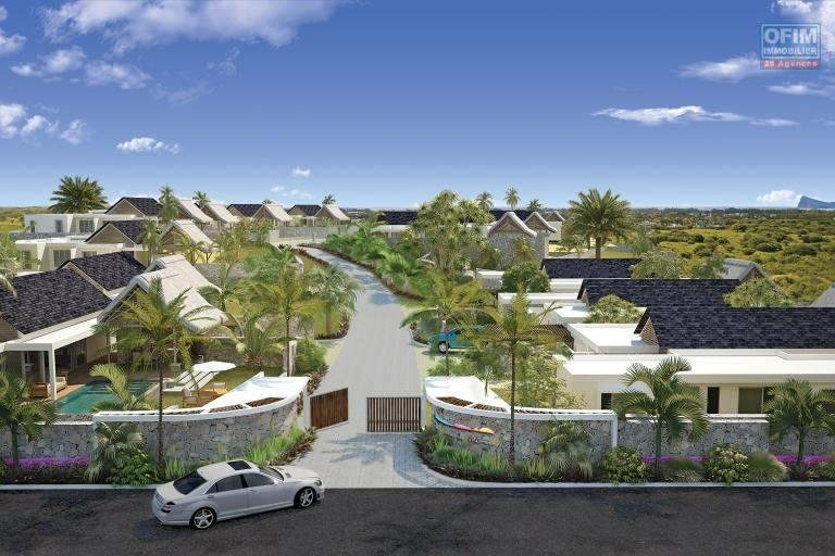 Project of 14 individual villas accessible to foreigners