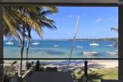 An exceptional site overlooking the bay of Trou d'Eau Douce for this 3 bedrooms apartment with the ocean view