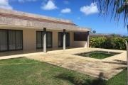 Beautiful modern and contemporary single storey 3 bedroom villa in a private domain on 20 foot path in Grand Bay.