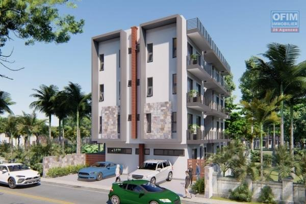 Quatre bornes  sale of apartment in the heart of the city at 4 100 000Rs