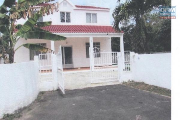 For sale beautiful new villa of 153 m2 in a popular area near the lagoon and shops in Mont Choisy.