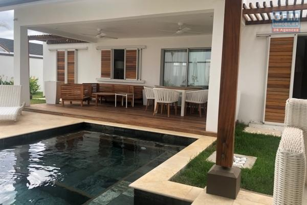 Accessible to foreigners and Mauritians: For sale a new villa in a PDS program eligible for purchase by foreigners and Mauritians located in the north Grand Baie route de Vale.