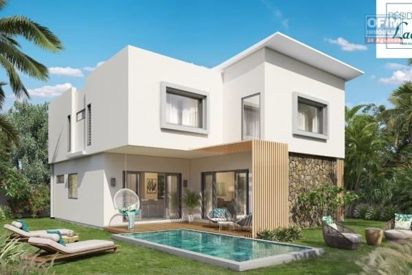 Trou aux Biches project of PDS villas accessible to foreigners 100 meters from the beach.