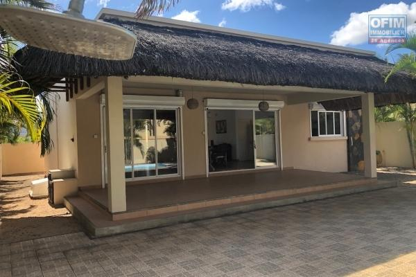 At the Pointe aux Piments villa sale accessible to foreigners and Mauritians with a permanent residence permit for the whole family.