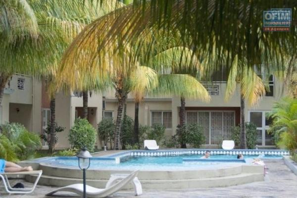 In a secure residence with caretaker, 2 bedroom apartment for long term rental in Flic en flac.