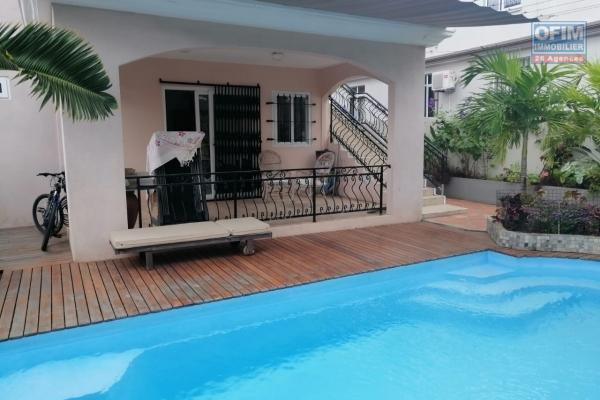 For sale 4 apartments in La Pointe aux Canonniers not far from all amenities, bus line, restaurant and the beach.