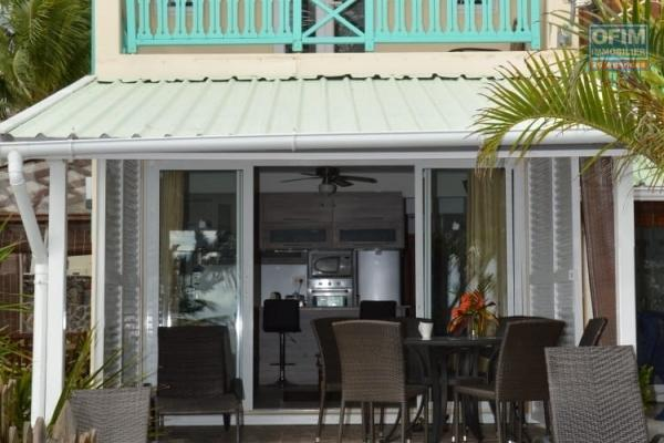 For sale 3 bedroom waterfront house in Belle Mare.