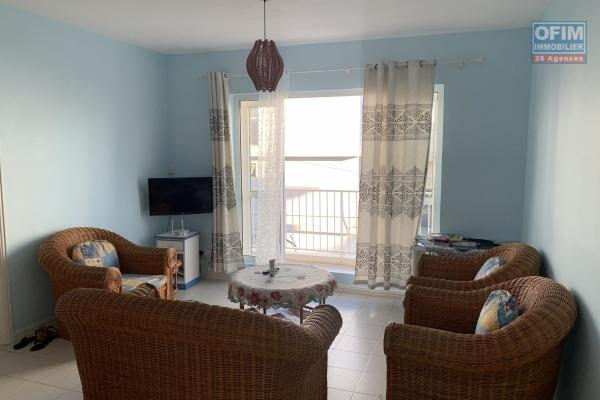 Flic en Flac for rent 3 bedroom apartment located in a secure residence close to the quiet beach.