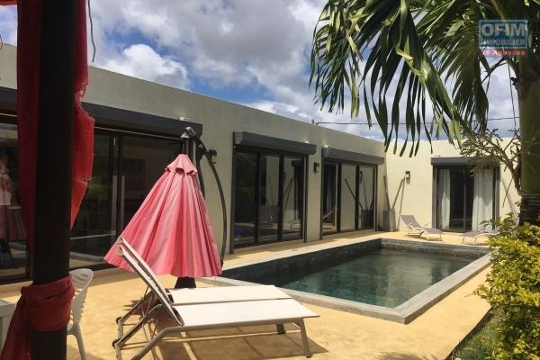 REDUCED PRICE: RENTAL MANAGEMENT EXCLUSIVE OFIM GRAND BAIE, Single storey 3 bedroom villa on 20 foot path in Grand Bay.