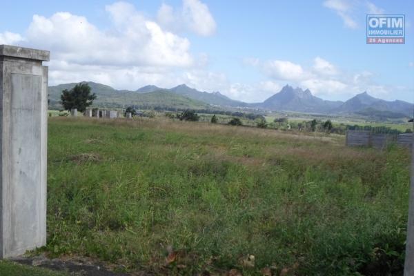 Beautiful land in fragmentation to My Piton