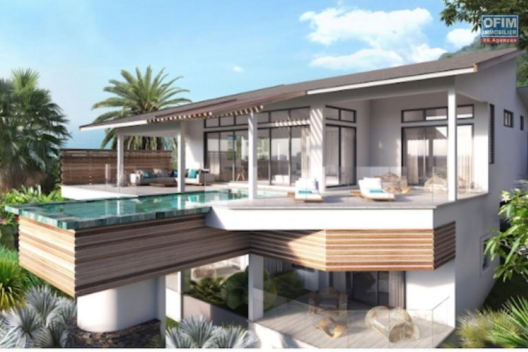 Rivière Noire accessibles aux étrangers PDS de 7 villas de luxe avec vue imprenable île maurice