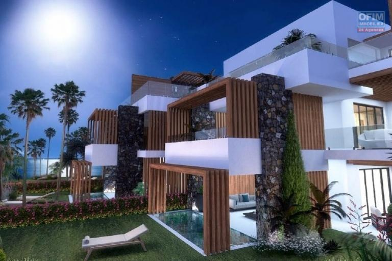 Tamarin vente de luxe appartements avec vue imprenable et piscine privative, accessibles aux étrangers.
