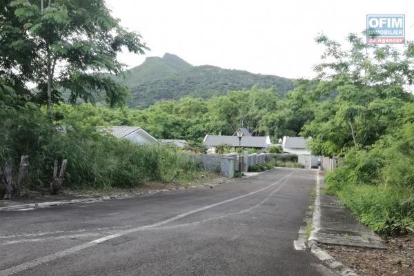 Flic en Flac à vendre terrain résidentiel de 182 toises au morcellement Green Creeck