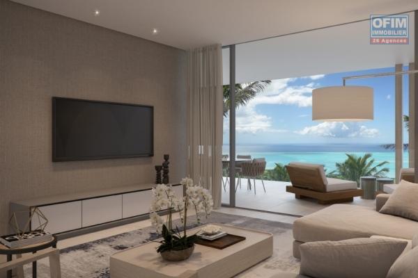 Accessible aux étrangers: A vendre penthouse de luxe avec piscine privée et sublime vue mer à Pointe aux Canonniers île Maurice.