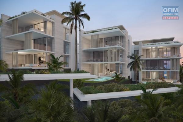 Accessible aux étrangers et aux mauriciens: A vendre un programme de 34 appartements pieds dans l'eau éligible à l'achat aux mauriciens et aux étrangers.