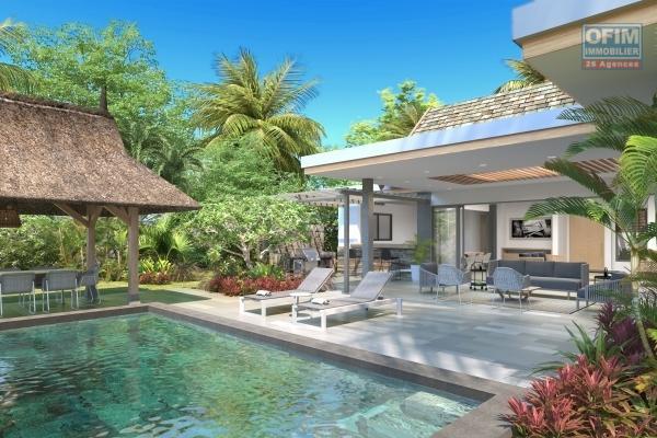 Accessible aux étrangers: A vendre villa au statut PDS en accession à la propriété pour les étrangers et aux mauriciens à Grand Baie Ile Maurice.