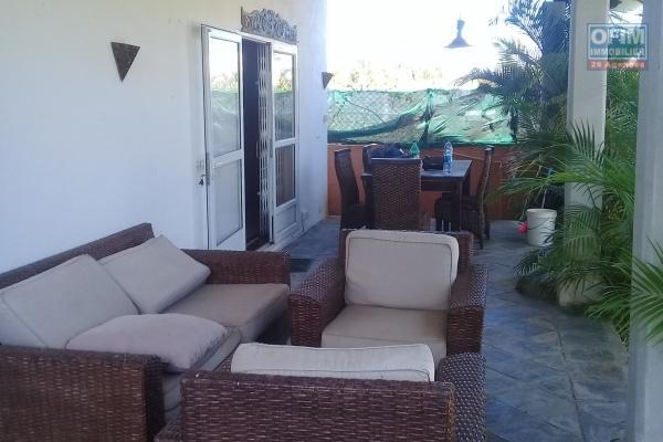 A vendre une villa dans un quartier très calme et proximité de la mer à Mont Choisy.