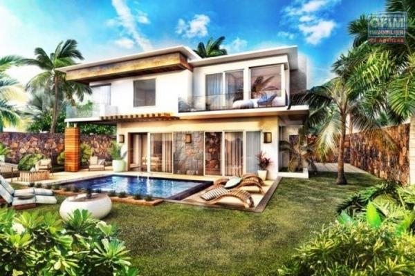 Accessible aux étrangers et aux mauriciens: A vendre une très belle villa récente à 200 mètres de la plage à Bain Boeuf, éligible à l'achat aux étrangers qui désirent l'occuper ou la mettre en location.