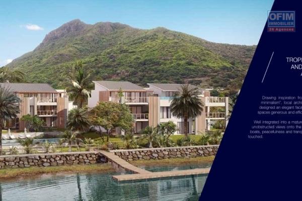 Tamarin vente penthouse en PDS accessible aux étrangers avec vue imprenable sur l'océan