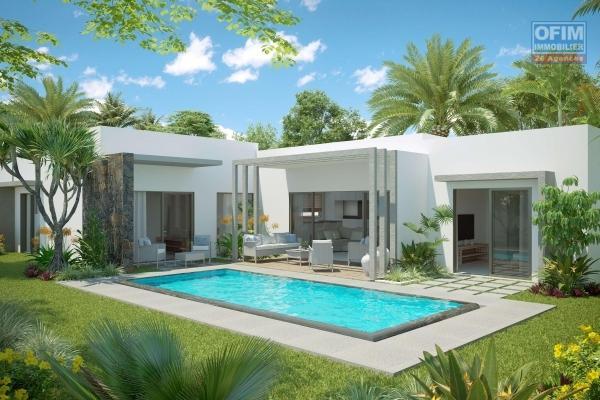 A vendre un programme de 17 villas en statut PDS accessible à l'achat aux étrangers avec permis de résidence permanent pour toute la famille et aux mauriciens.