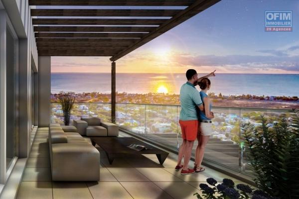 Rivière Noire vente appartement accessible aux étrangers situé dans une résidence sécurisée avec piscine.