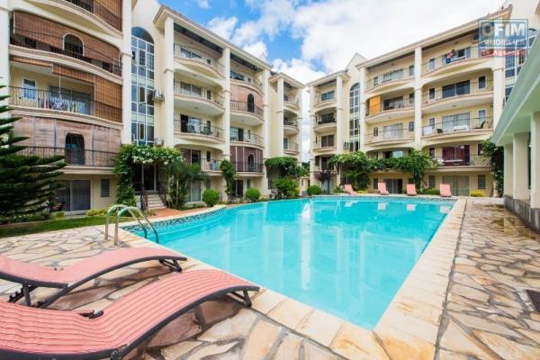 Complexe d'appartement entièrement neuf à 2 pas de la plage et de Wolmar avec piscine commune et parking