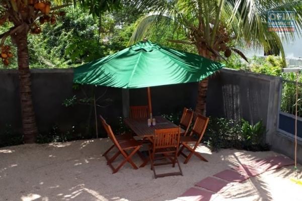 Flic en Flac rare et exceptionnel location villa 4 chambres dans un complexe rechercher à 10 mètres de la plage et des commerces