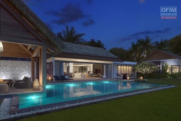 Rivière Noire à vendre villa IRS de luxe accessibles aux étrangers dans un complexe sécurisé proche des commerces et plage.