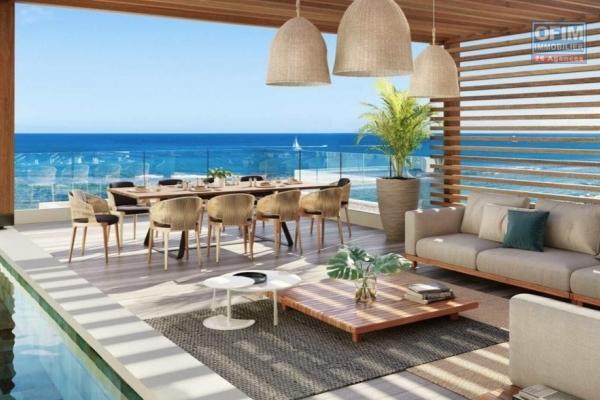 Exclusivité Tamarin superbe opportunité accessible aux étranger pour ce projet de 9 appartements livrer en 2020 situé à Black Rock avec vue imprenable sur la baie de Tamarin au calme.
