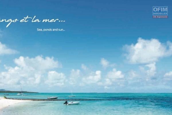 Pointe d'Esny à vendre projet PDS accessible aux étrangers avec piscine, dans un cadre idyllique naturel à proximité du plus beau lagon de l'île.