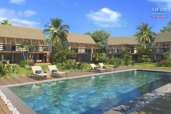 Pointe d'Esny à vendre PDS accessible aux étrangers duplex avec piscine et jardin privé.