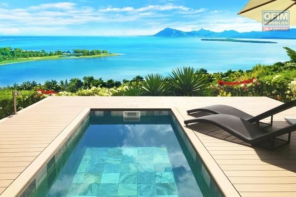 Aussi rare qu'exceptionnelle, appartement luxueux pied dans l'eau à louer long terme à Flic en flac