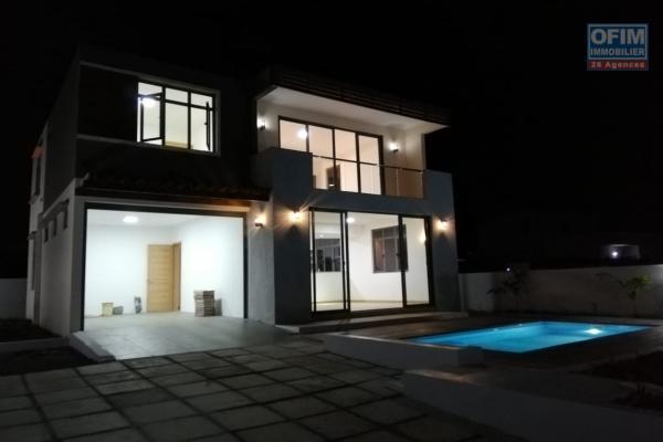 A vendre villa neuve F4 non loin du lagon et de toutes commodités à Trou aux Biches.