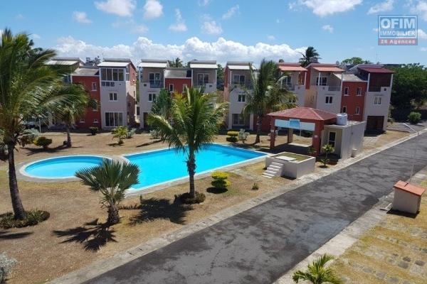 A vendre appartement F3 proche des commerces et de la plage à Grand Baie.