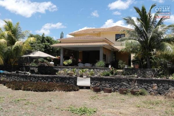Rivière Noire belle villa familiale située dans un domaine privé idéale pour les amoureux de la nature