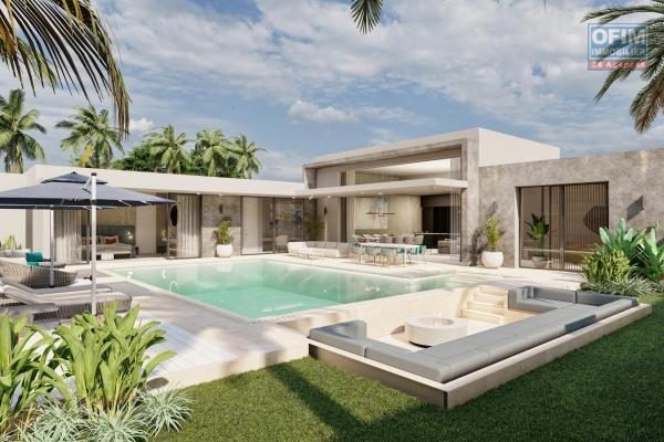 A proximité du cœur de Grand Baie et de la plage, villas PDS dans un nouveau programme haut de gamme.  Redéfinir le luxe à l'île Maurice … Et le luxe se transforme en mode vie !