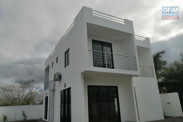 A vendre maison neuve F5 proche de la Croisette à Grand Baie.