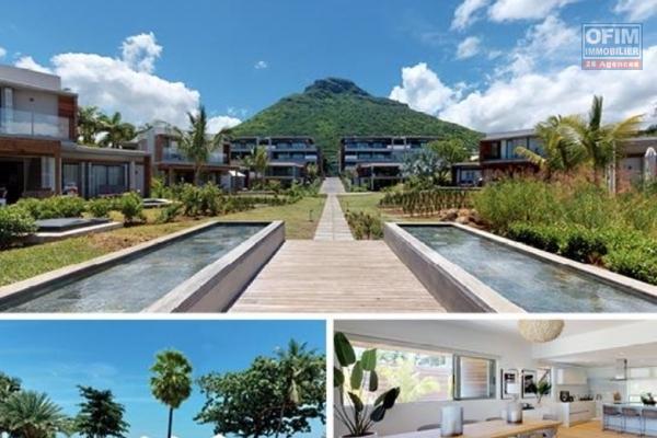 Rivière Noire splendide appartement 3 chambres et d'une superficie de 409M2 face à la plage. Accessible eux étranger.