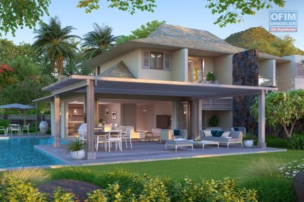 Flic en Flac à vendre villas PDS accessible aux étrangers avec piscine ce projet est situé dans un domaine sécurisé.