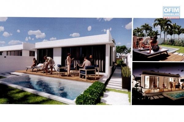 En vente locale, projet de 23 villas 3 chambres plus piscine et jardin arboré à Calodyne.