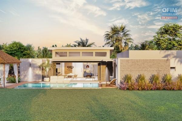 A vendre un programme de 8 villas réservé à l'achat exclusivité aux citoyens mauriciens dans le nord chemin 20 pieds à Grand Baie /Pereybere.