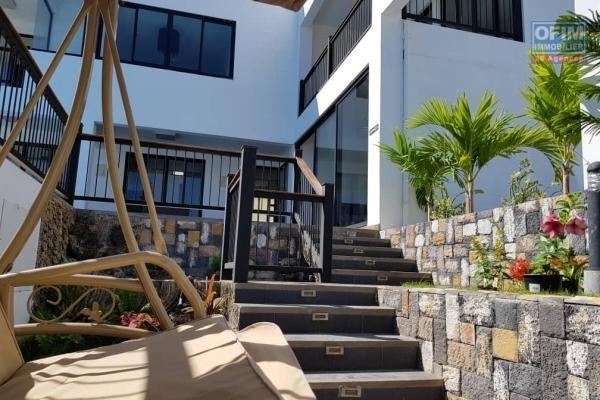 Villa spacieuse nouvellement construite et haut de gamme à louer dans Flic en Flac