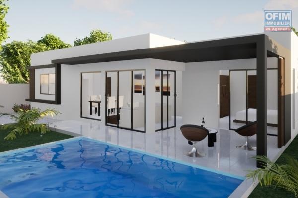 Projet de 5 villas chemin 20 pieds (prox domaine Athéna, à 5 mn en voiture du centre ville de grand baie, du super u et des plages)