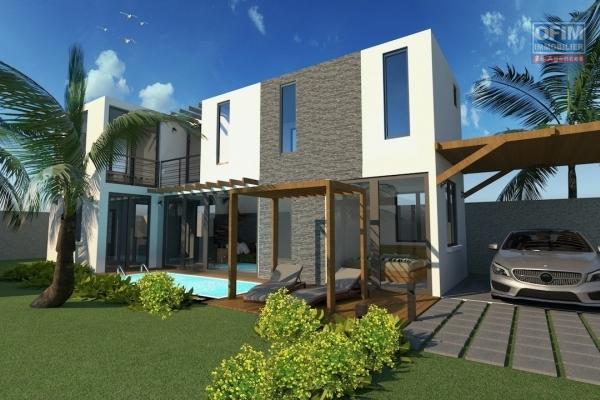 Ofim Grand Baie vous propose une villa en cours de construction au domaine ELYSIAN BAY (livraison aout 2021).