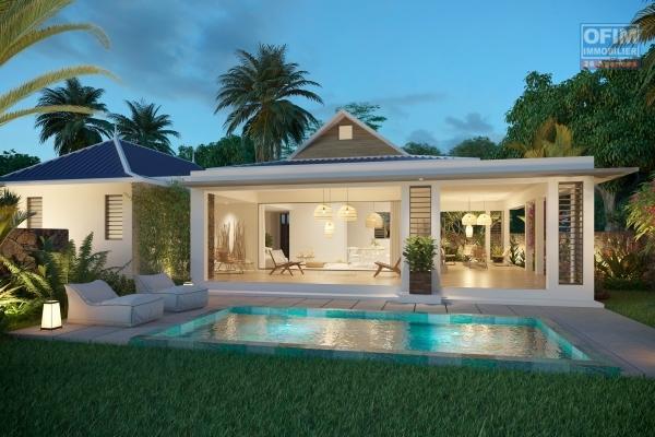 Rivière Noire à vendre projet de villas 3 chambres en PDS d'architecture coloniale situé au cœur d'une nature tropicale